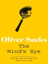 The Mind&#39;s Eye (eBook)